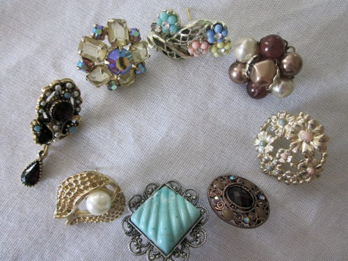 October Tutorial Converting Vintage Clip On Earrings Verity