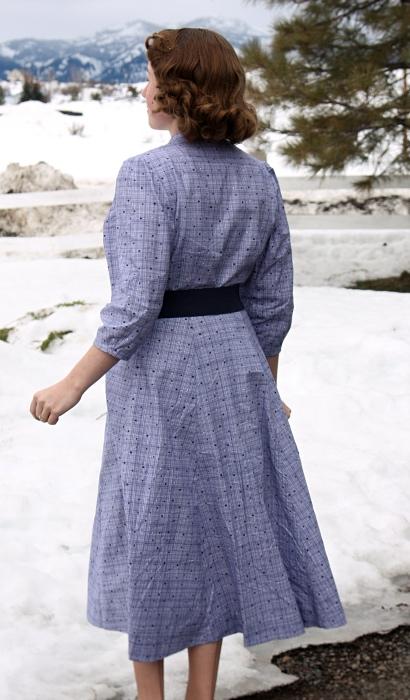 The Polka Dot Project 1950s Coat Dress Verity Vintage Studio
