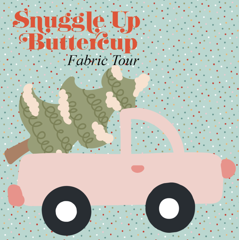 Snuggle up buttercup button