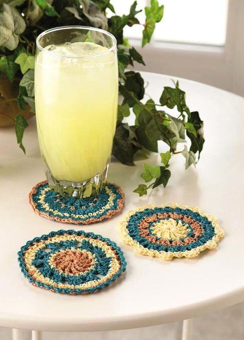 Gypsy Wheel Coasters